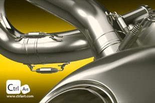 Akrapovic Motorcycle Exhaust  THUMB IMAGE